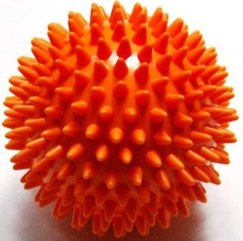 Ортопедичний масажний М'яч d=6 см для занять, тренувань, фітнесу Ortek ПОМАРАНЧЕВИЙ