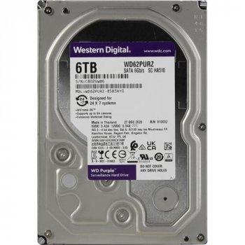 Жорсткий диск Western Digital Purple 6 TB HDD 5640 rpm 128 MB WD62PURZ 3.5 SATA III