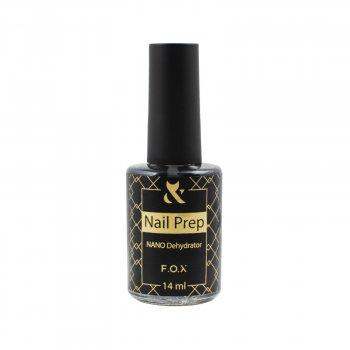 Знежирювач для нігтів Nail Prep F. O. X , 14 мл