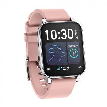 Смарт годинник Smart Watch FROMPRO P36 з тонометром Pink