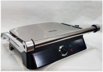 Гриль DSP KB-1001 електричний притискної з таймером Потужність 1400 Вт чорний