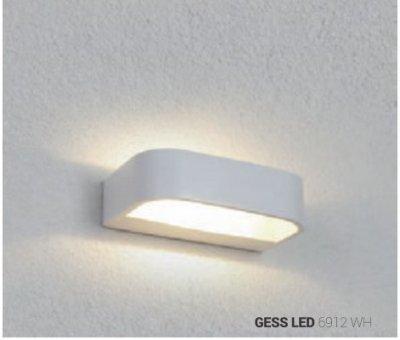 Світильник настінний Nowodvorski GESS LED 6W 6912 білий