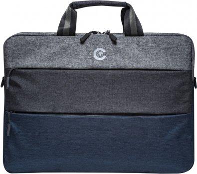 """Сумка для ноутбука Continent 15.6"""" Blue (СС-212BLUE)"""
