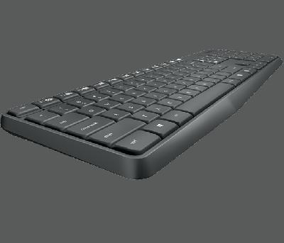 IT набір Logitech Wireless Keyboard and Mouse MK235 (6281166)