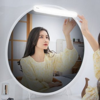 Универсальный светильник/ночник Baseus dimmer mirror White light 2200mAh