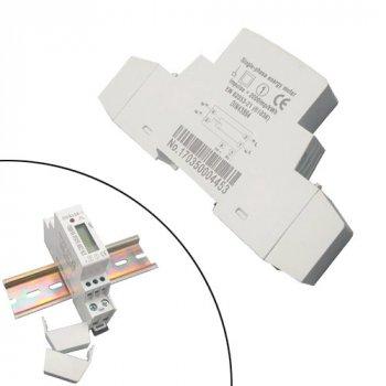 Лічильник електроенергії SINOTIMER однофазний 220 В 45 А DIN