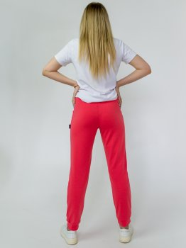 Спортивні штани Kodor Standart КБ1106 Рожеві/Коралові