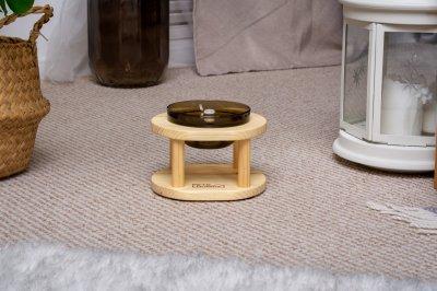 Підставка з мисками для собак і котів Pets Lounge Bowl Black, 200 мл
