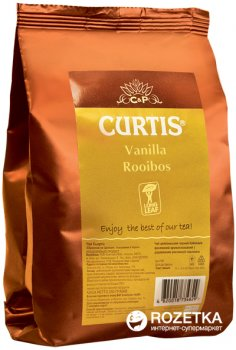 Чай ройбуш крупнолистовой Curtis Vanilla Rooibos 250 г (4823063702515)