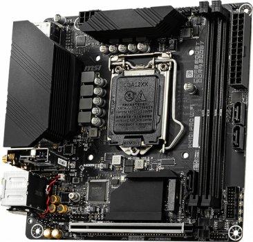 Материнська плата MSI H410I Pro Wi-Fi (s1200, Intel H410, PCI-Ex16)