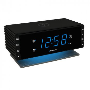 Радіогодинник Blaupunkt CR55CHARGE з індукційним зарядним пристроєм (5901750503283)