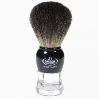 Помазок для гоління Omega 63167 на підставці борсук