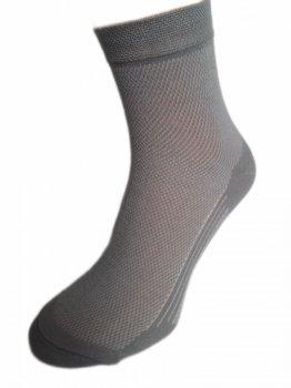 """Носки мужские """"Нова пара"""" летние 430-333 цвет-серый"""