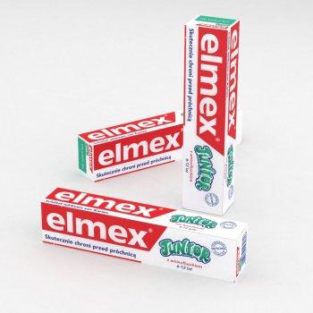 Зубная паста для детей младшего школьного возраста 6-12лет Elmex Junior 75мл