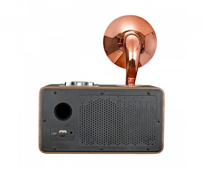 Беспроводная Bluetooth колонка SODO Z16 Silver JKR | Оригинал | Гарантия Розовое золото