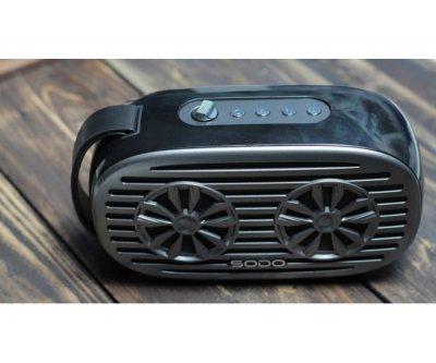 Беспроводная Bluetooth колонка SODO Z19 Black JKR | Оригинал | Гарантия Черный