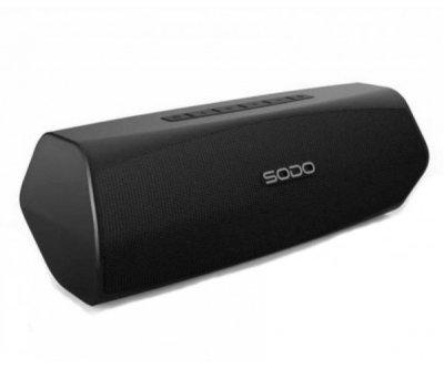Беспроводная Bluetooth колонка SODO L6-LIFE JKR | Оригинал | Гарантия Черный