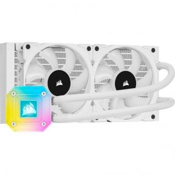 Система водного охлаждения CORSAIR iCUE H100i Elite Capellix RGB White (CW-9060050-WW)