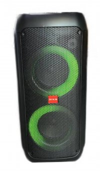 PartyBox Автономная акустическая система FX-506 + радиомикрофон, LED светомузыка. USB/FM/Bluetooth/TWS