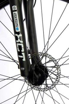 """Велосипед складаний алюмінієвий Make на литих дисках 26"""" / рама 17"""" біло-салатовий (MALSVELD2617BS)"""
