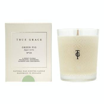 Классическая ароматическая свеча TRUE GRACE Green Fig No23 190g