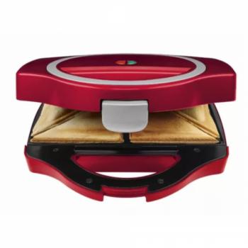 Сендвичниця-бутербродниця електрична Silver Crest SSWM 750 B2 red 750 Вт з антипригарним покриттям