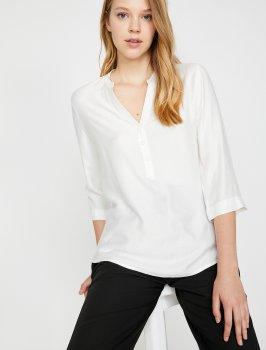 Блузка Koton 0KAK68576PW-001 Off White
