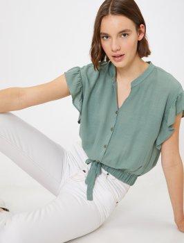 Блузка Koton 0KAK68500PW-770 Green