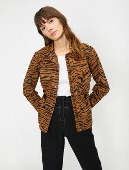 Джинсовая куртка Koton 0KAK57198DD-200 Orange