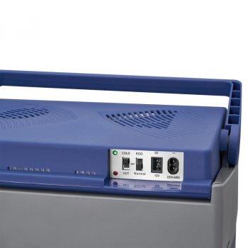 Автохолодильник Clatronic KB 3714 класу A ++ на 30 літрів з двустенным корпусом і функцією енергозбереження 68 Вт Синій