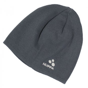 Вязаная демисезонная шапка для мальчика Хуппа Huppa PEPPI серый, M 51-53 см (8344BASE-00048-00M)