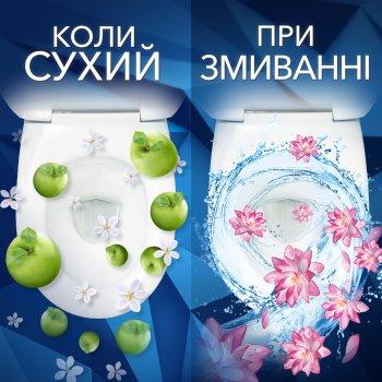 Туалетні блоки для унітаза Bref Зміна аромату Яблуко та Лотос (9000101329353)