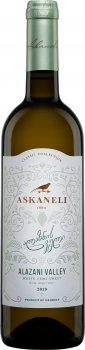 Вино Асканели Алазанская долина белое полусладкое 0.75 л 11-12% (4860053011080)