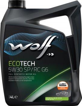 Моторна олива Wolf EcoTech 5W30 SP/RC G6 4 л (1047292)