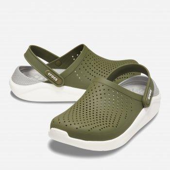 Сабо Crocs Men's LiteRide Clog 204592-37P Зеленые
