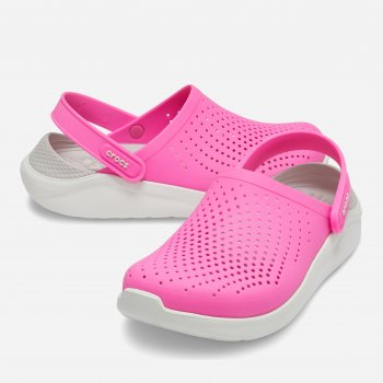 Сабо Crocs Women's LiteRide Clog 204592-6QV Electric Pink/Almost White