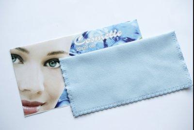 Серветка Miracle Косметика 20х20см блакитна