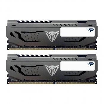 Модуль пам'яті Patriot 16GB (2x8GB) DDR4 3200 Viper Steel (PVS416G320C6K)