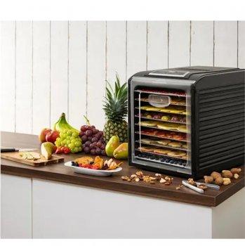 Дегидратор-сушилка для овощей, фруктов и грибов Klarstein Fruit Jerky Plus 9 (10031936) черный