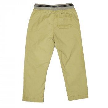 Брюки для мальчика ( 1 шт ) OshKosh бежевого цвета штаны на резинке прямого покроя 5 лет 38