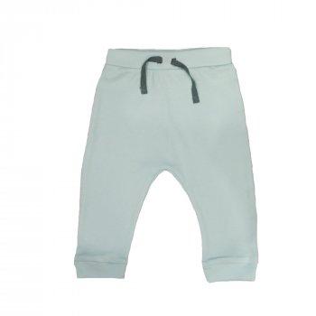 Брюки для мальчика ( 1 шт ) Carter's голубые штанишки на резинке и манжетах 9-12М 11кг 366