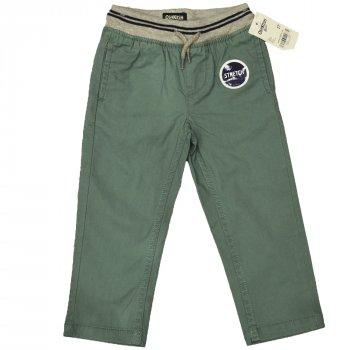 Штани для хлопчика (1 шт.) OshKosh зеленого кольору штани на гумці прямого крою 2 роки 46