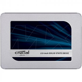 "Накопичувач SSD Crucial MX500 500GB 2.5"" SATAIII 3D TLC (CT500MX500SSD1)"