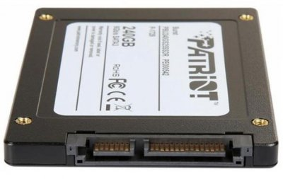 "Накопитель SSD Patriot Burst 240GB 2.5"" SATAIII TLC 3D (PBU240GS25SSDR)"