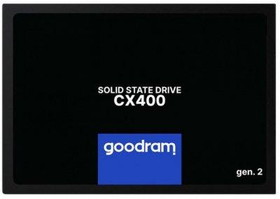 """Накопичувач SSD Goodram CX400 Gen.2 256GB 2.5"""" SATAIII 3D NAND TLC (SSDPR-CX400-256-G2)"""