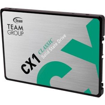 "Накопичувач SSD Team CX1 480GB 2.5"" SATAIII 3D TLC (T253X5480G0C101)"