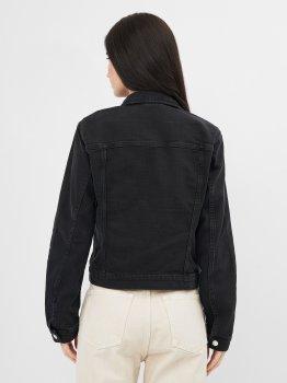 Джинсовая куртка H&M 1102-7861701 Черная