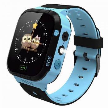 Дитячі розумні Смарт-годинник GPS Smart Watch KIDS Plus Blue