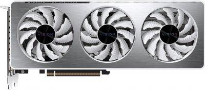 Gigabyte PCI-Ex GeForce RTX 3060 Vision OC 12G 12 GB GDDR6 (192 bit) (15000) (2 х HDMI, 2 x DisplayPort) (GV-N3060VISION OC-12GD + P750GM + G27F)