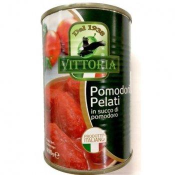 Помідори очищені Vittoria Polpa di Pomodoro